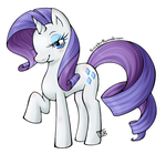 MLP - Rarity by SinisterBunneh