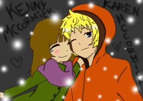 Karen and Kenny Mccormick by BarbiRothstein