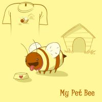 Woot Shirt - My Pet Bee by fablefire