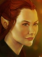 Tauriel by Glass-Owl