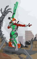 Jade The Giant-Killer by PhidippusOfMystery