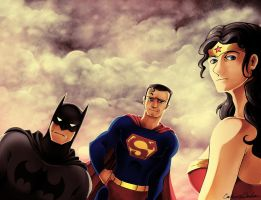 DC Trinity by CatusSnake