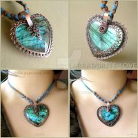 2 in 1 Labradorite Heart by popnicute