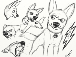 Bolt Sketches by KanpekiNaSekai