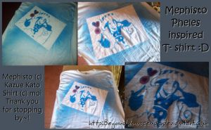 Ao no Exorcist: Mephsito Shirt by BeyondInnocence