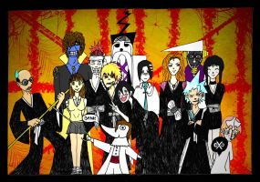 Bleach Eaters Halloween by spiralDorgapy