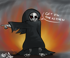 the grim reaper demands you by Lucky-Puppy