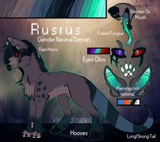 ::Rusrus Ref 2014:: by KingMoosen