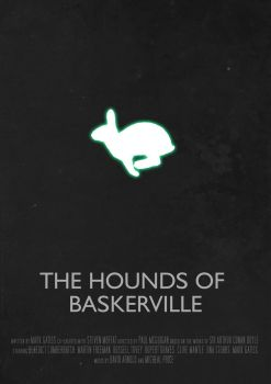 The Hounds Of Baskerville - Movie Poster by Ashqtara