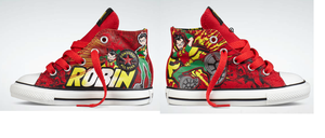 Robin shoes :I by Ask-Supergirl