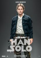Star Wars: Han Solo Movie Poster by nei1b