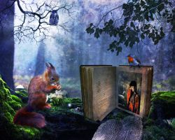 The Lost Storybook by ElissandrAnne