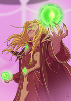 kael'thas keep by andrecdraws
