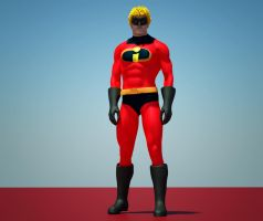 Mr. Incredible 2nd skin textures 4 M4 by hiram67