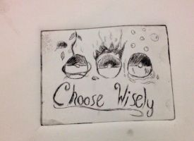 Choose Wisely... by nekonicat