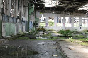 Industrial decay Stock 095 by Malleni-Stock