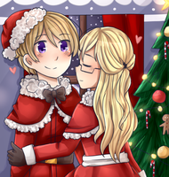 All I want for Christmas is you. by bun-niii