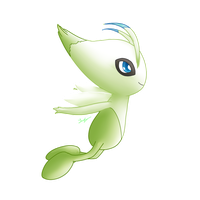 8. Celebi by Leafrabbit