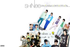 SHINee wallpaper by ghost-colours