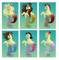 The Daughters of Tritan by kittynpink