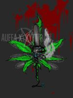 Chainsaw Marijuana by Kyttibat