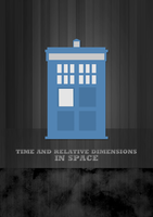 Wooden Tardis by peppermintfrogs