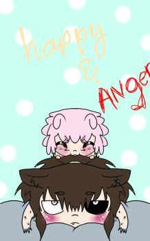 Anger and Happy by AvraZon2014