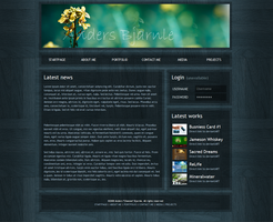 Anders Bjarnle Website 1 by Cheezen