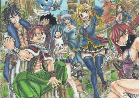 Fairy Tail Repost by gabitigress18