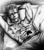 GRIMMJOW: What yer starin' at? Go ahead... by blackstorm