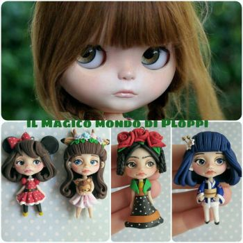 Blythe dolls inspired \ clay / Ploppi by MagicoMondoDiPLOPPI