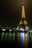 Eiffel By Night by LeMex
