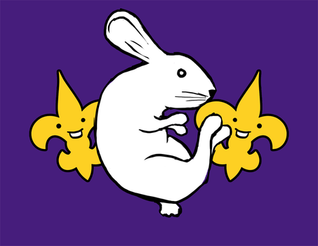 Geaux Rabbits by KevinNuut