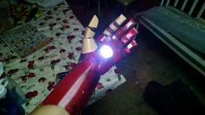 Iron man gauntlet COMPLETED by Deviantapplestudios