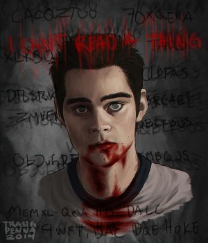 blind!Stiles by trasigpenna