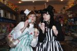 Gothic Lolita - Sweet in twin outfits by Kiara-Valentine