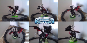 Custom Skylanders Toy:: Classic Cynder by Neffertity