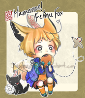 [Raffle Winner] Mamemoe! ver. Fennec Fox by mayoujii