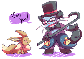 The Dapper Dewott by raizy