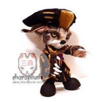 Chrono Cross Lynx Plush Doll by kaijumama