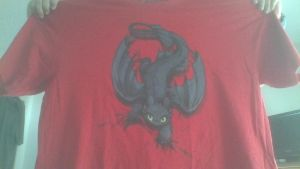 Another Dragons Design T-Shirt From Hot Topic by PokeLoveroftheWorld