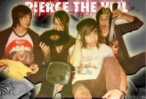 Pierce The Veil by solitudexdreamz