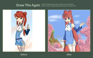 Draw again Smile by drantyno