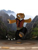 Tigress - Kung Fu Panda by A-l-e-h