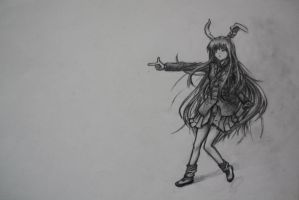 A Reisen Udongein sketch by EasyModeDX