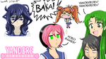 Yandere Simulator Fan Art: Various Characters by Zero-Q