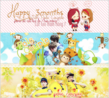 [PSD] Happy 3moths with Pole Couple by yenlonloilop7c