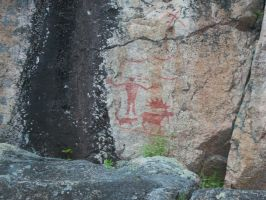 Indian Pictographs by Silverwolf-1ofmany