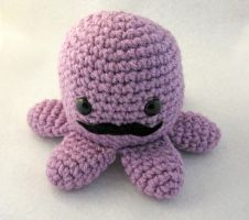 Gentleman Octopus Amigurumi by egyptianruin