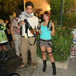 Lara Croft and Nathan Drake Cosplay by Valentyn4